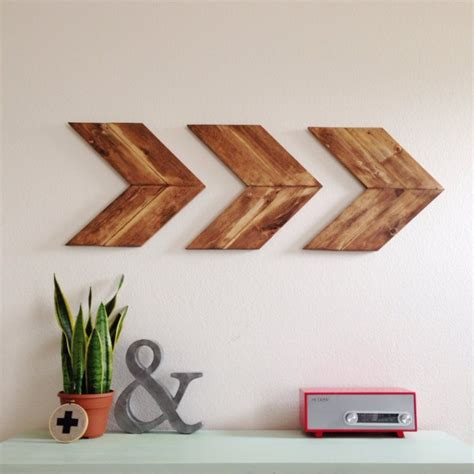 15 Extremely Easy Diy Wall Art Ideas For The Non Skilled Wooden Wall Decoration