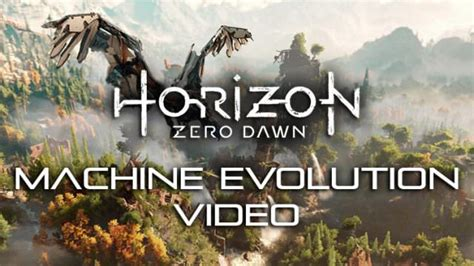 dev machine nier new horizon zero dev diary explores how the machine