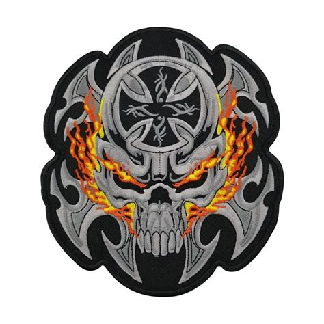 wholesale christ fire skull patch br buy customized