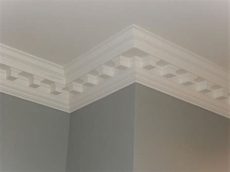 Ceiling With Cornice Ornate Cornice Repair Installation