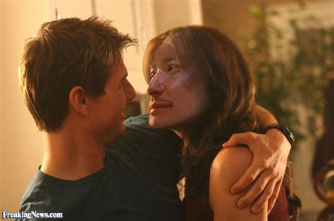 Tom Cruise Cuddling by Tom Cruise A Pictures Freaking News