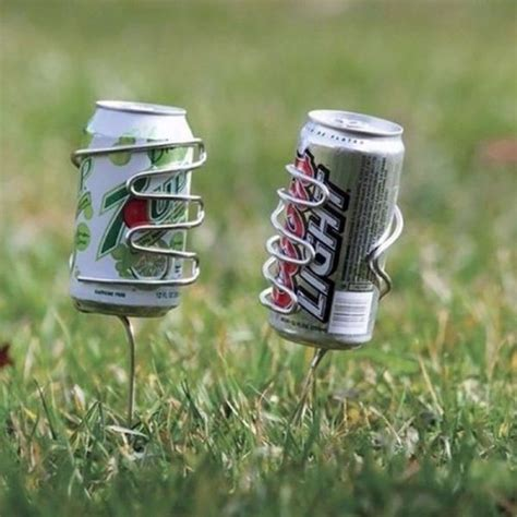 backyard drink holders silly and smart inventions 60 pics