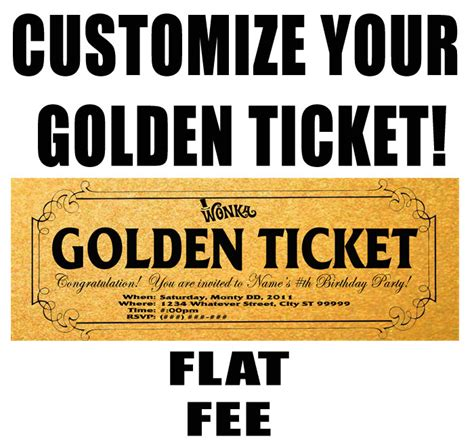 7 best images of willy wonka golden ticket template