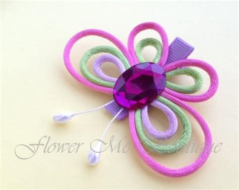 Wedding Hair Accessories For Toddlers by Butterfly Hair Bows Hair Flower Hair