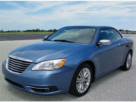 2011 Chrysler 200 For Sale by 2011 Chrysler 200 Series Limited Convertible For Sale