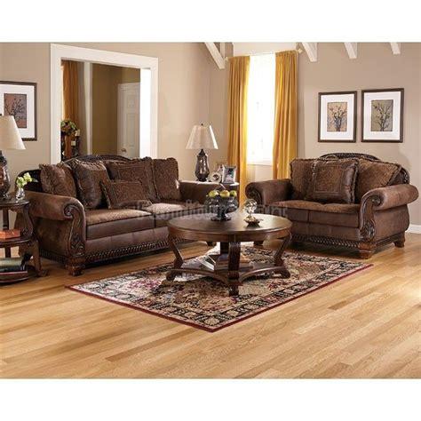 Signature Furniture Living Room Sets Bradington Truffle Living Room Set Signature Design