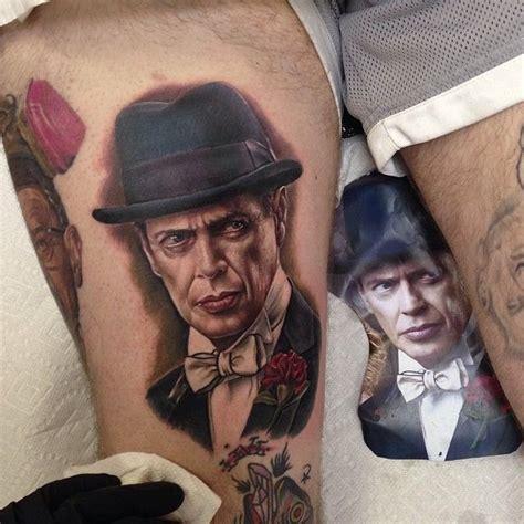 steve buscemi tattoo 57 best portrait tattoos images on