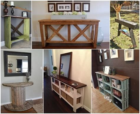 entry way table ideas 15 fabulous diy entryway table ideas