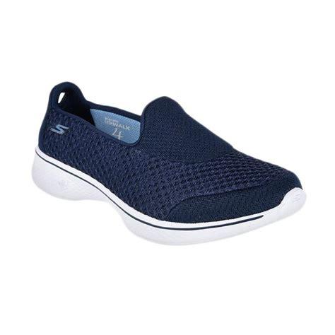 Sepatu Skechers Wanita Go Walk 4 Socks jual skechers go walk 4 sepatu olahraga wanita