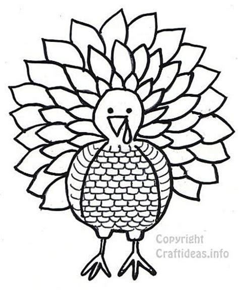 turkey coloring page print out best photos of tom turkey cut out printable tom turkey