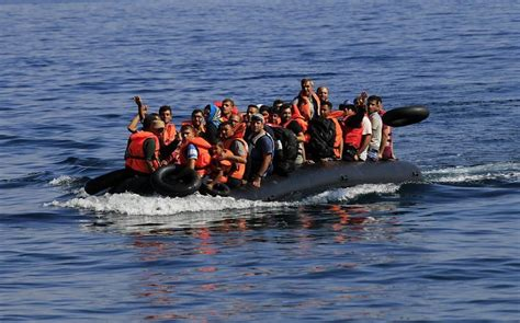 missing refugee boat one migrant child dead 13 missing in sea off greek island