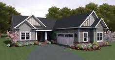 l shaped ranch homes ranch house plan 54106 like the l shape and exterior