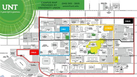 unt parking map unt map map2