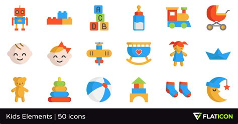 design elements kid definition kids elements 50 free icons svg eps psd png files
