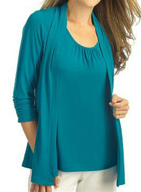 liquid knit tops new susan graver liquid knit solid tank with shirring at