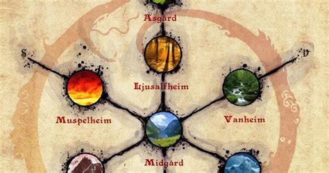 los nueve libros de mitologia los nueve reinos o mundos de yggdrasil mitologia n 243 rdica