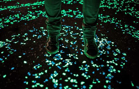 how to create light without electricity researchers create glow in the dark cement to light up