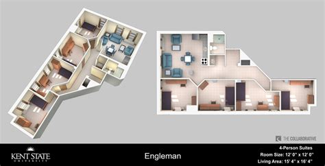 Studio And 1 Bedroom Apartments rs room diagram