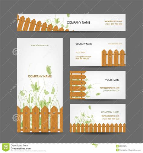 country style cards business cards design country style royalty free stock