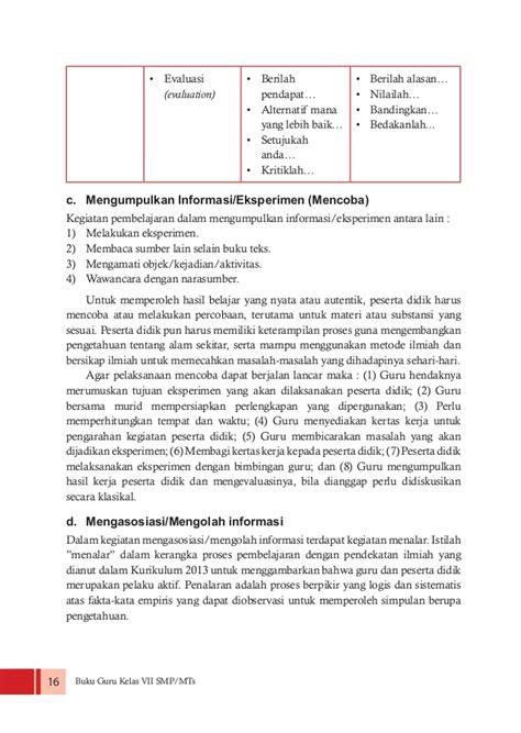 Buku Pendekatan Ilmiah Dalam Implementasi Kurikulum 2013 Abdul M Pr buku guru kelas vii ppkn kurikulum 2013 edisi revisi 2016