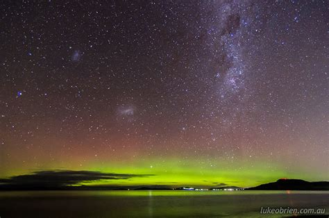 southern lights the southern lights tasmania luke o brien photography