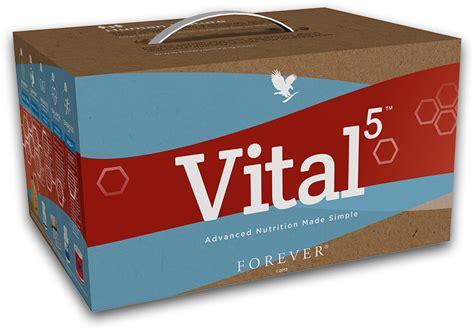 Forever In 5 vital5 nutrition for peak performance aloe