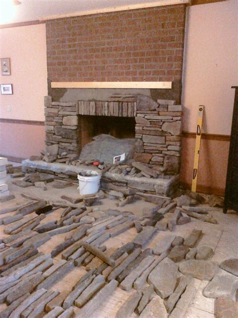 hometalk manufactured stone veneer   installed