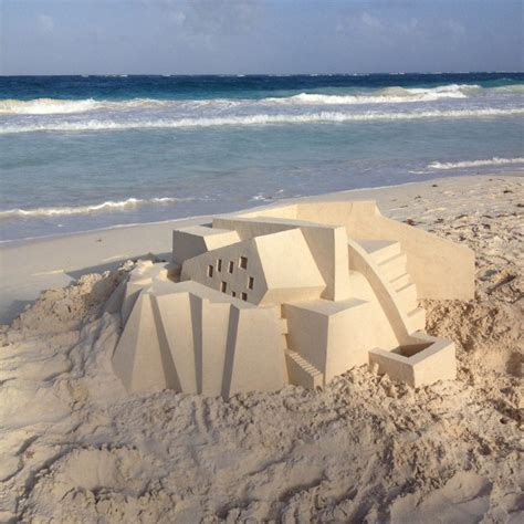 calvin seibert jaw dropping modernist sandcastles by calvin seibert
