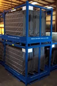custom fabrication of steel racks packaging solutions