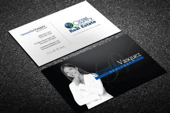 Unc Business Card Template by United Country Business Card Templates Designed For