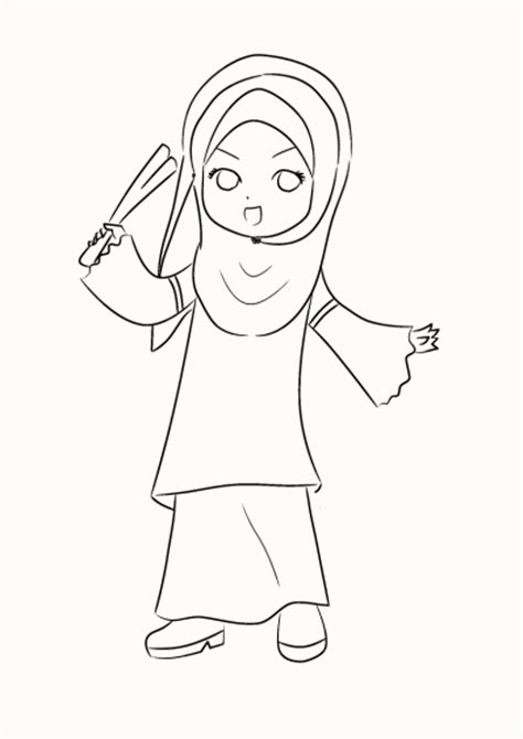 baju adat colouring pages mikuinhijab lineart by nyanbila49 on deviantart