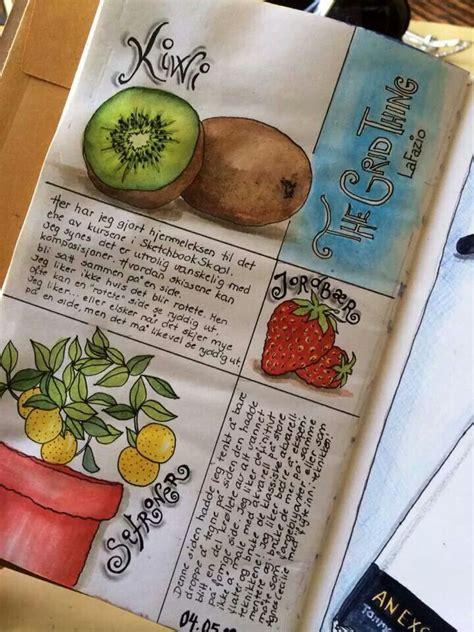 sketchbook skool artist annika sylte sketchbook skool journal