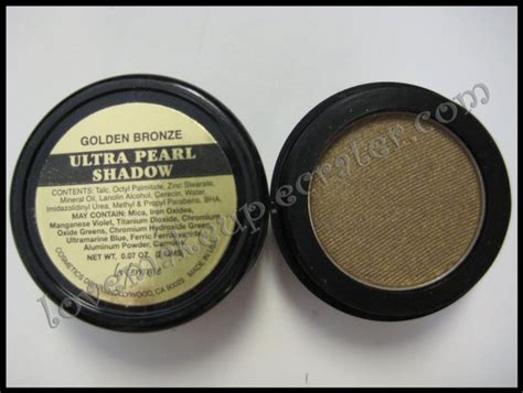 La Femme Ultra Pearl Eye Shadow Flamenco la femme ultra pearl eye shadow golden bronze