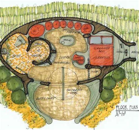 hobbit hole floor plan hobbit house plans who said i can t build a hobbit hole