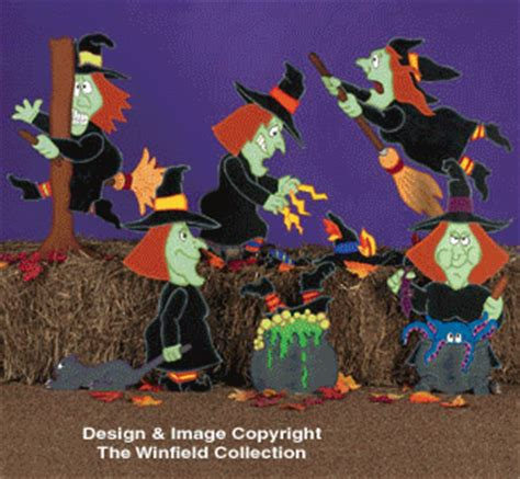 witches cats witches pattern combo pattern set
