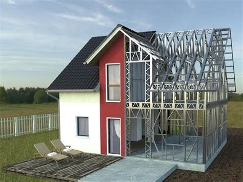 steal house how to build a steel house www rotarex ro youtube