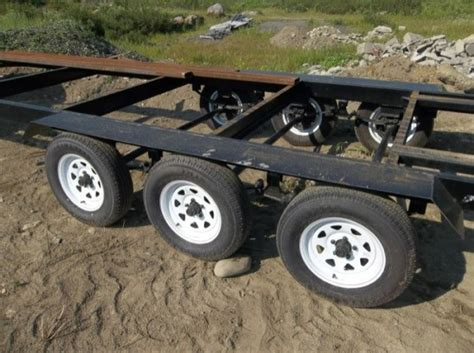 used tinny boat trailers for sale triple axle trailer for tiny house construction for sale