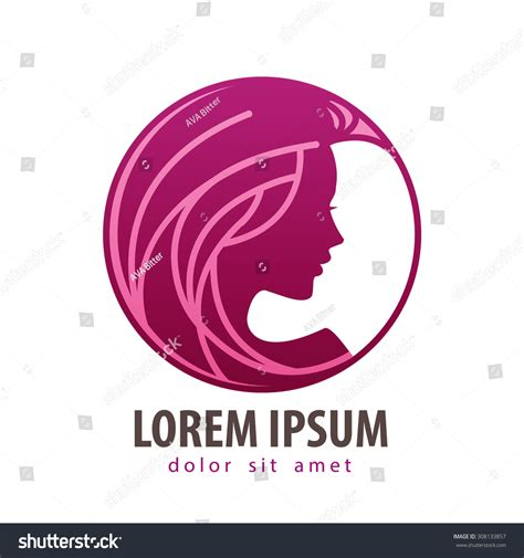 attractive logo design templates beautiful vector logo design template stock vector