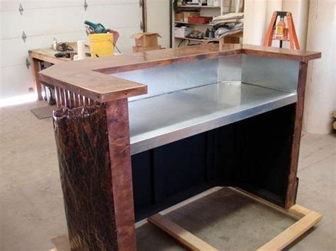 custom made reception desk crafted copper reception desk by mike dumas copper