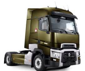 Renault Trucks Sa Renault Trucks Pr 233 Sente Sa Nouvelle Gamme T Lors Du Salon