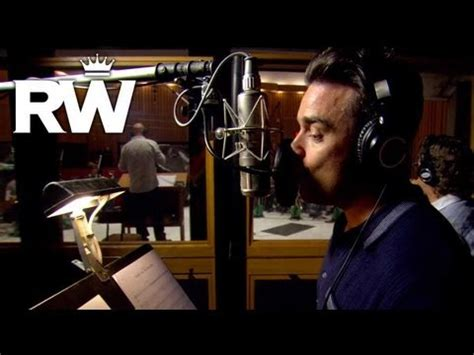 youtube robbie williams swing robbie williams robbie swings in the studio youtube