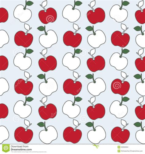 pattern apple background seamless pattern of apple background stock images image