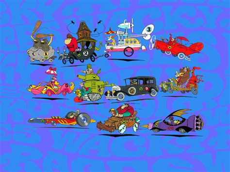 wacky races wacky races page