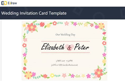 4 best software for diy wedding invitations to save a few bucks