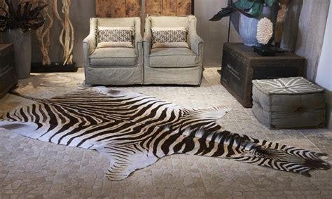 tappeto zebra tappeto in pelle di zebra zebra hides collezione animali