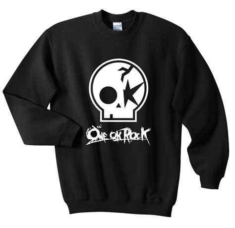 Sweater One Ok Rock Fightmerch one ok rock skull sweatshirts sweater fansshirt