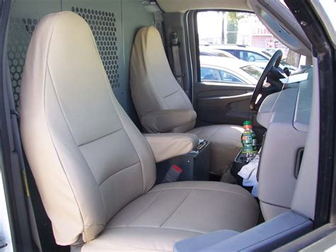 chevy express seats chevy express 2000 2011 iggee s leather custom seat