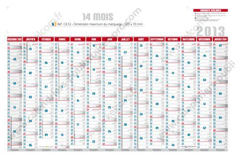 Calendrier Des Vacances Scolaires 2013 14 Calendrier 14 Mois