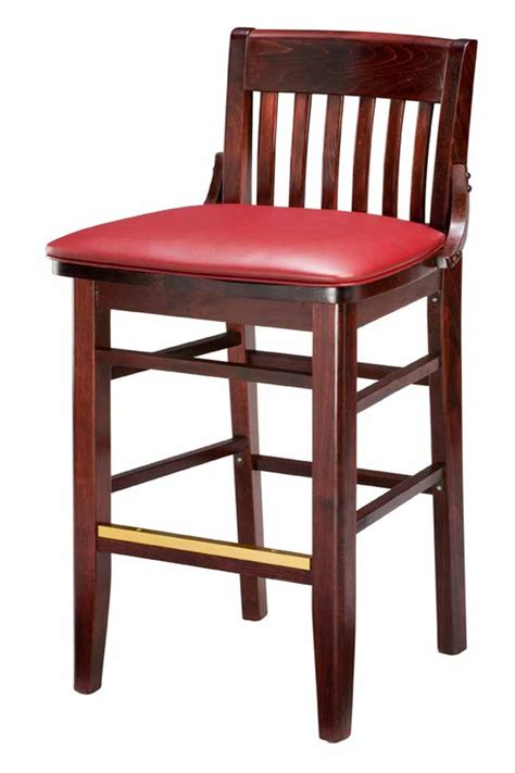 commercial wooden bar stools regal seating series 454 commercial wooden counter height