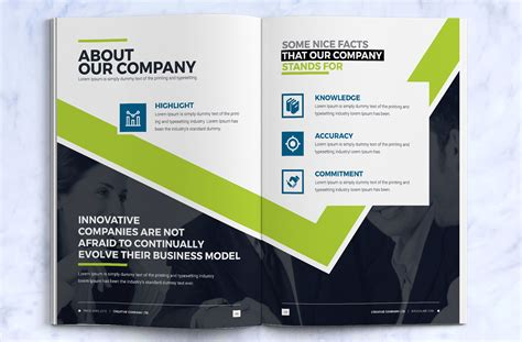 business brochure design template indesign brochure